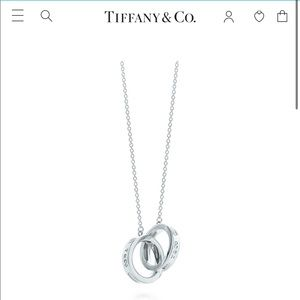 Tiffany & Co. Interlocking Circle Pendant